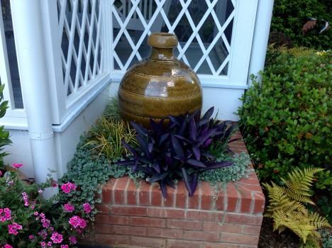 Sculpture garden (Mark Hewit pottery)
